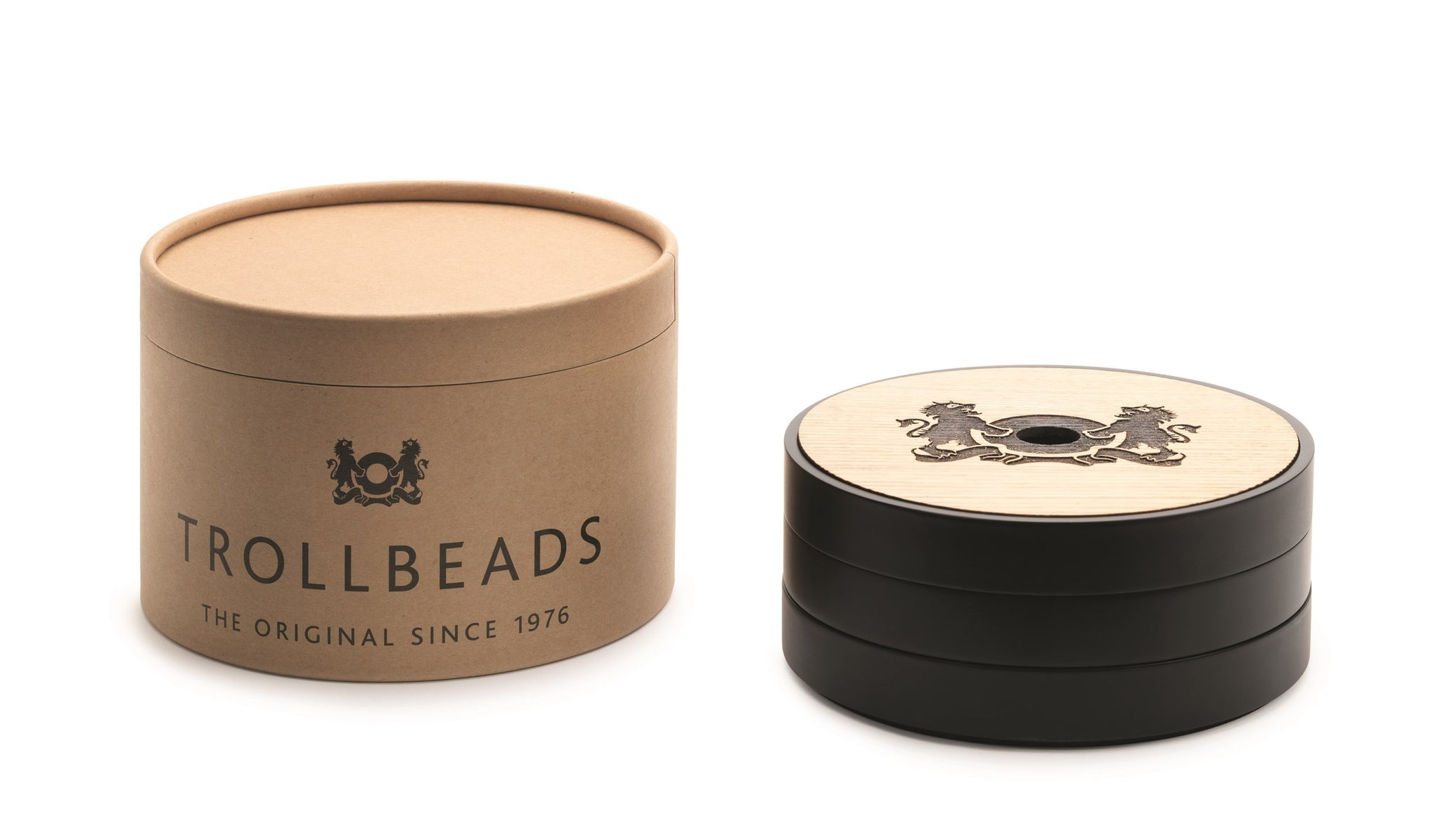 Trollbeads Black Jewellery Box