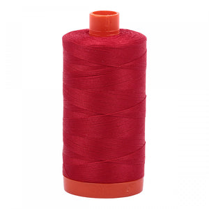 Aurifil Mako Cotton Thread Red 50wt