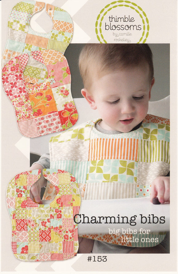 Charming Bibs Children's Bib Pattern from Camille Roskelley and Thimble Blossoms