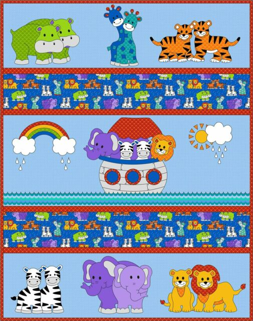 I Can See A Rainbow Baby Quilt and Applique Pattern