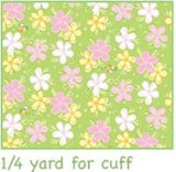 Susybee Lal The Lamb Children's Pillowcase Kit In colors of pink green white yellow all fabric included