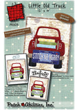 Little Old Truck Quilt Applique Quilt Block Pattern by Patch Abilities 12 x 14 Inches