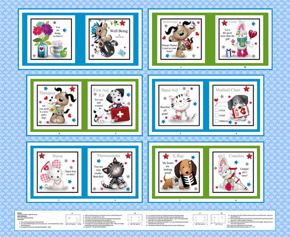 Children S Cloth Storybook Panels To Sew The Quilted Nursery Children S Fabric Store