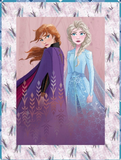 Frozen 2 Cotton Cloth Faux Quilt Panel 44 x 35.5 Inches