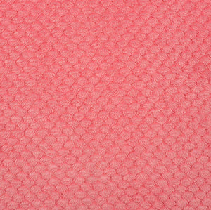 Minky Fabric Coral Minky Cloud Spa Cuddlel Double Sided Minky Fabric by Shannon Fabrics