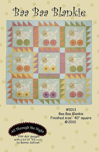Baa Baa Blankie Baby Quilt Patterns 40 inch square