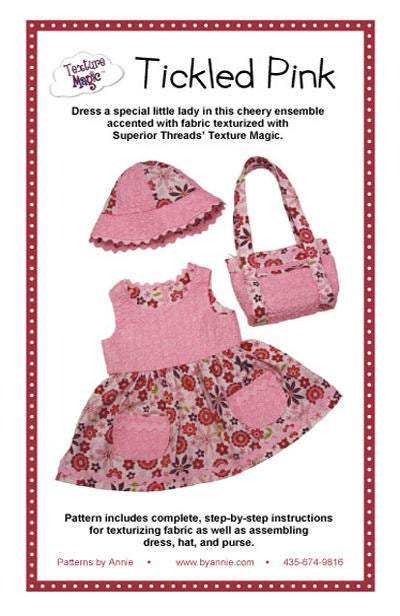 Toddler Dress Pattern, Tickled Pink Dress Pattern by Annie