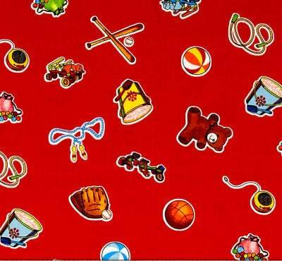 WEE PLAY CHILDREN'S Cotton Fabric by Kathy Brown