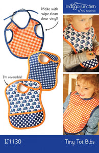 Baby Bib Pattern Tiny tots from Indygo Junction