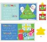 Merry Christmas Little One Children's Christmas Cloth Book Panel To Sew