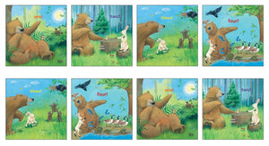 Big Bear Small Mouse Counting Numbers Cloth Book Panel