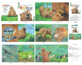 Big Bear Small Mouse Soft Cloth Book Panel