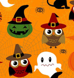 Adorable Spooks Cotton Halloween Fabric