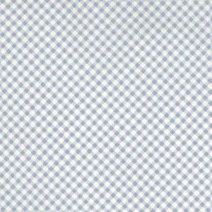 Moda Lily and Will Blue/Cream Cotton Fabric by Moda