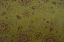 Avlyn Ranchero Western Fabric Yellow Tone on Tone Paisley