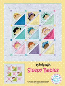 Sleepy Babies Baby Quilt Pattern by Amy Bradley