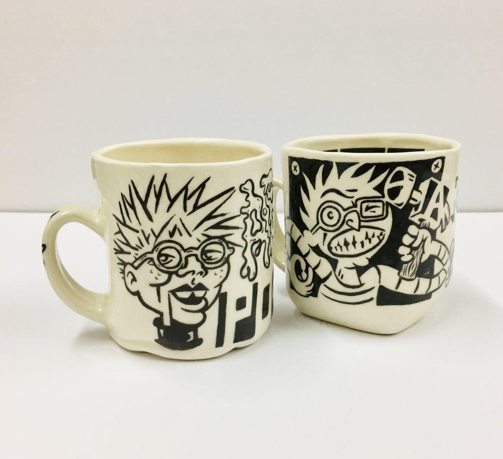 Matthew Causey, Pair of Mugs