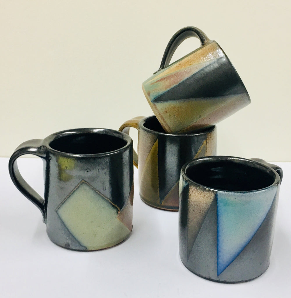 David Crane, Set of 4 Mugs