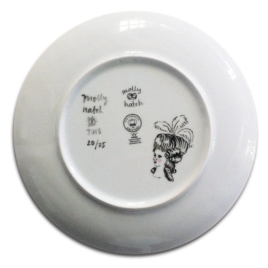 Molly Hatch Baroque Garden 2013 Limited Edition Plate