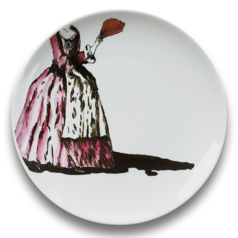 <b>Molly Hatch</b><br/> <i>Baroque Garden,</i> 2013<br/>Limited Edition Plate