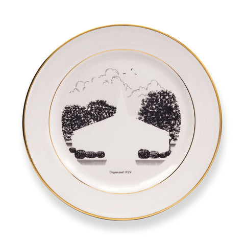 Niki Johnson, Pilgrim Rest, 2013, Limited Edition Plate