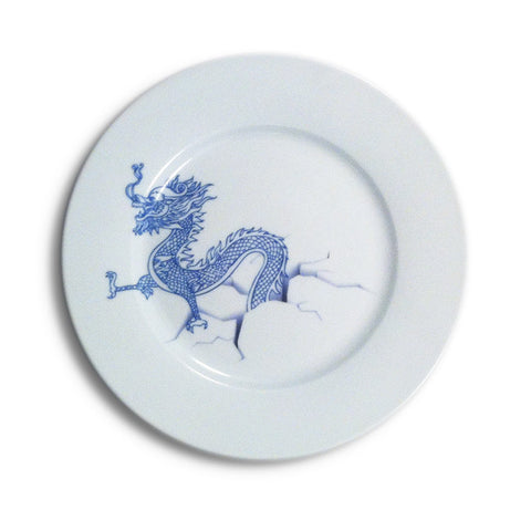 Steven Lee, Dragon Plate, 2013, Limited Edition Plate