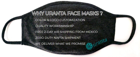 Uranta Mindful Clothing Cloth Face Mask at wholesale prices