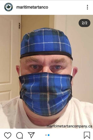 Maritime tartan when your face mask fashion is a source of pride and more