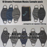 Uranta Premium Face Mask 10 pack sample - Try before you buy bulk