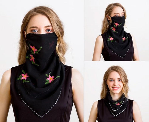 Scarf, Pashmina, Shawl, neck scarf, scarf mask, Scarves for Women, Pashmina Shawl, Womens Scarf, Christmas - Wild Flower