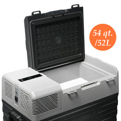 54 Quart (52 Liter) Portable Refrigerator Cooler & Freezer - CHO Sports