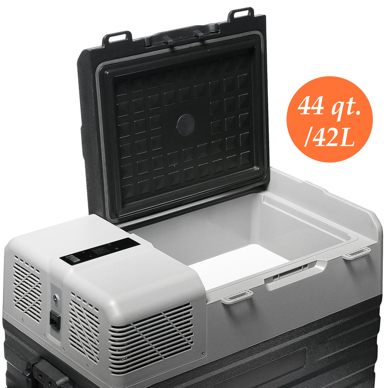 44 Quart (42 Liter) Portable Refrigerator Cooler & Freezer - CHO Sports