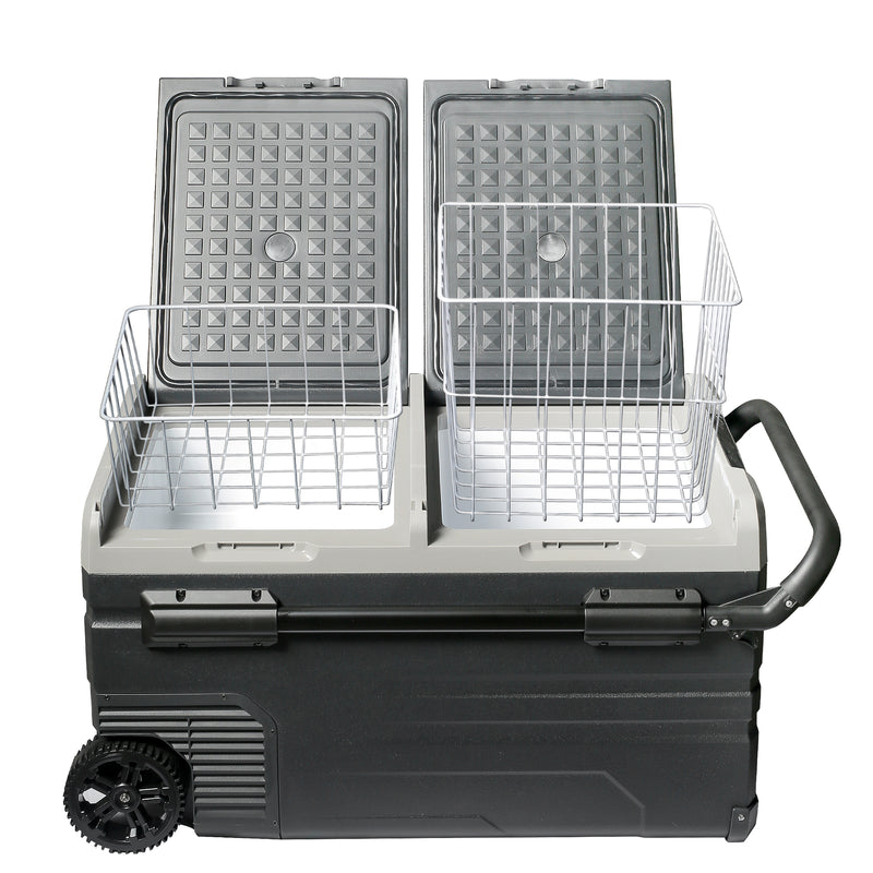 79 Quart (75 Liter) Portable Refrigerator Cooler & Freezer - CHO Sports