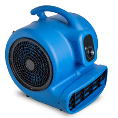CHO Air Mover Durable Lightweight Carpet Dryer Utility Blower Floor Fan for Janitorial Cleaner Home Commercial Blue - CHO Sports