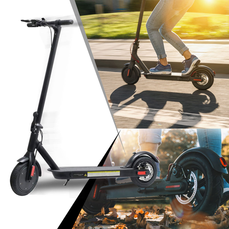 CHO Electric Portable Rechargeable Folding Scooter Black - CHO Sports