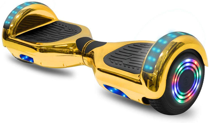 "6.5"" CHO Chrome Series Hoverboard Chrome Gold - CHO Sports"