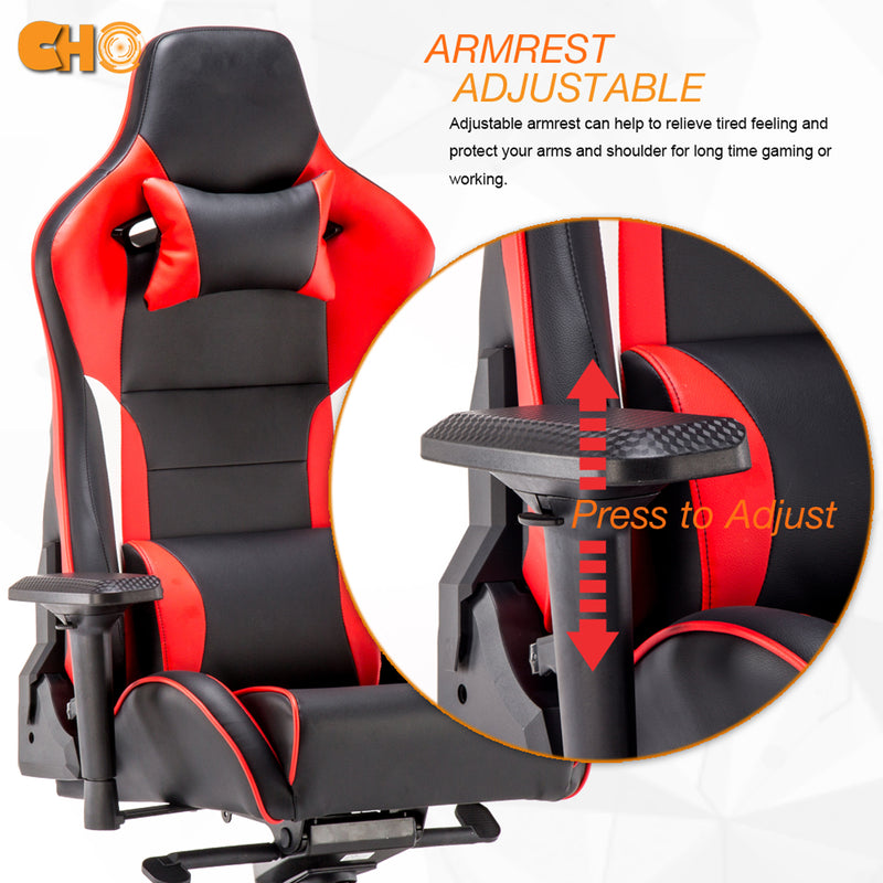 Gaming Chair Red & Black GM-2374 - CHO Sports