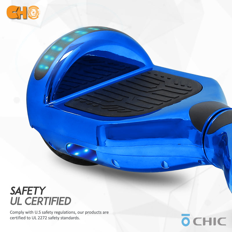 CHO Chrome Series Hoverboard Chrome Blue - CHO Sports