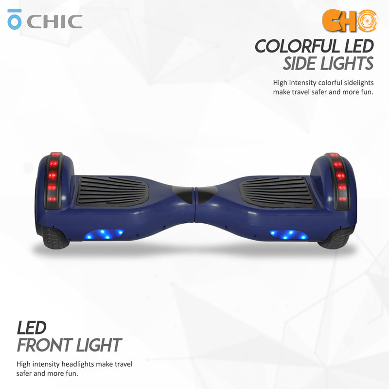 CHO Chrome Series Hoverboard STD Blue - CHO Sports