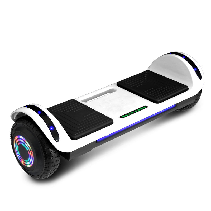 CHO Flatboard Series Hoverboard White - CHO Sports