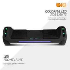 CHO Flatboard Series Hoverboard Black - CHO Sports