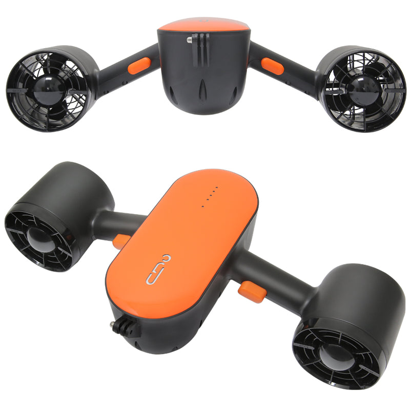 CHO 2-Level Speed Sea Scooter Orange - CHO Sports