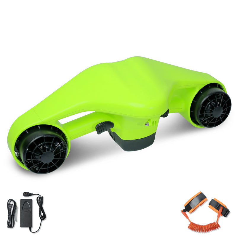 CHO 2020 New Seascooter Underwater Scooter Water Proof Dual Propellers Portable Green