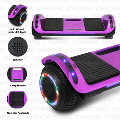 CHO Flatboard Series Hoverboard Chrome Purple - CHO Sports
