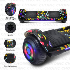 CHO Flatboard Series Hoverboard Graffiti Colorful - CHO Sports