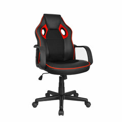 CHO Gaming Office Chairs Racing Black w/Pinstripes - CHO Sports