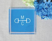 Load image into Gallery viewer, Equestrian Monogram Lucite Tray
