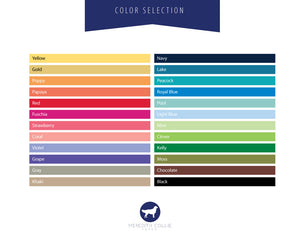 Signature Color Options