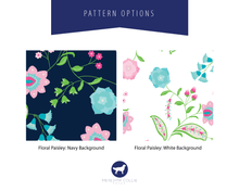 Load image into Gallery viewer, Floral Paisley Background Color Options | Meredith Collie Paper