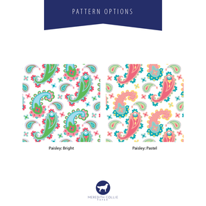 Paisley Color Options | Meredith Collie Paper